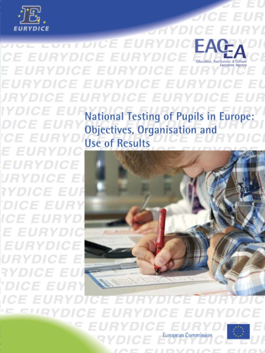 Copertina di National testing of pupils in Europe: objectives, organization and use of results