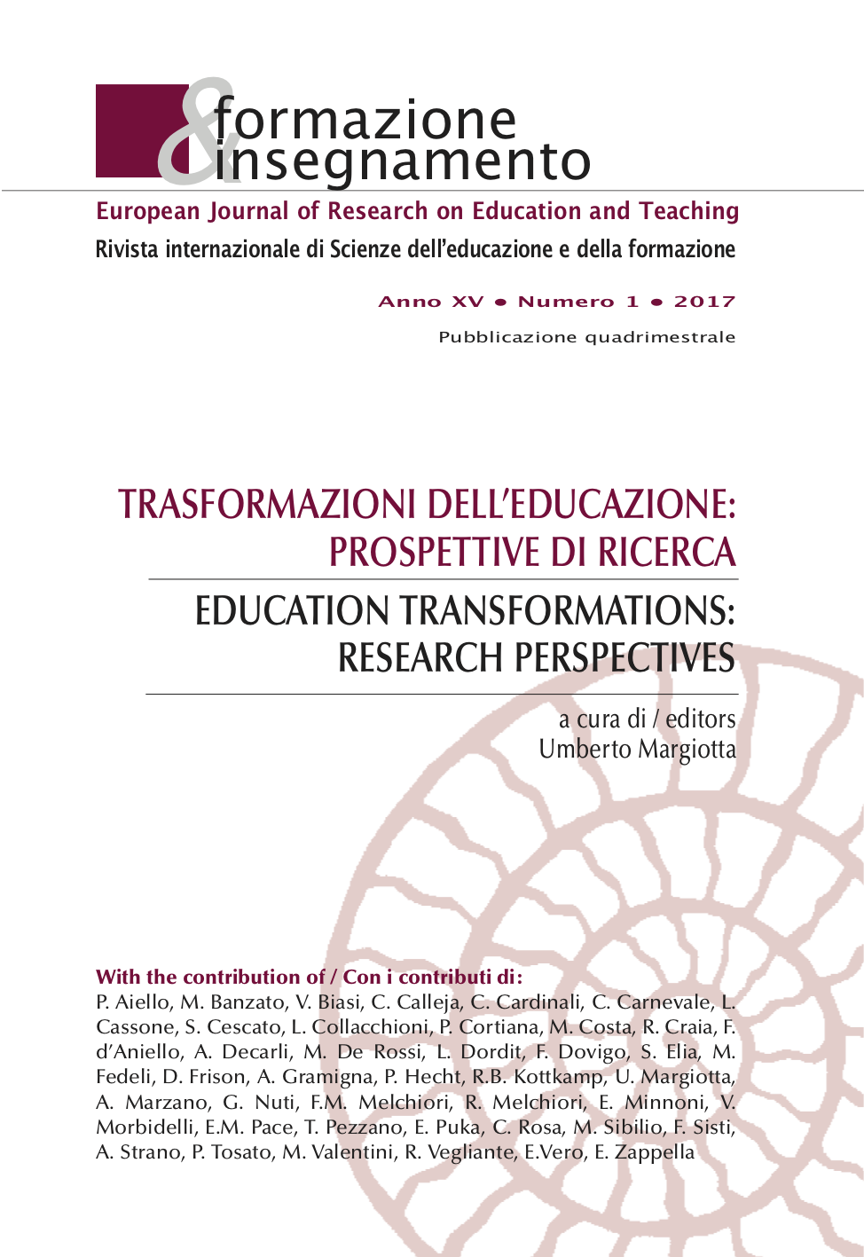 Copertina di The importance of Motivation in an Educational Environment