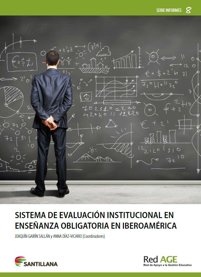 Copertina di Sistema de evaluación institucional en enseñanza obligatoria en Iberoamérica