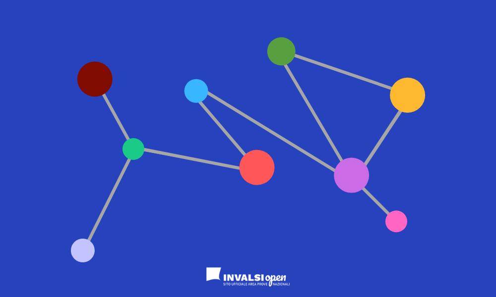 Grafica di pallini con connessioni