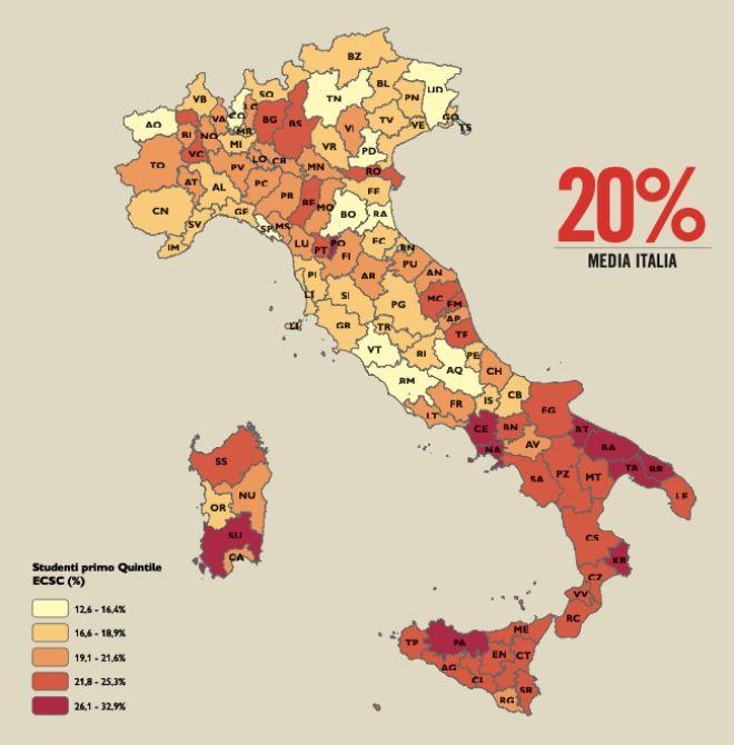 L'impatto del Coronavirus sulla povertà educativa